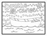 Canoe Coloring Douche Pages Printable Adult Getcolorings Sheet sketch template