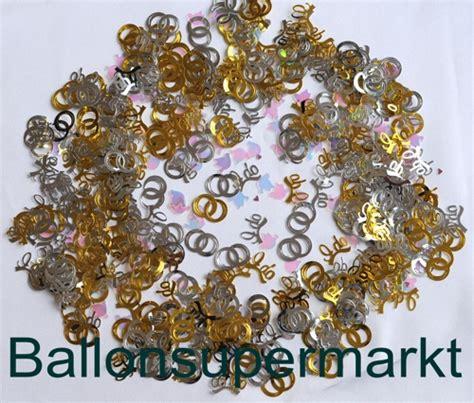 konfetti streudeko hochzeit tauben und ringe