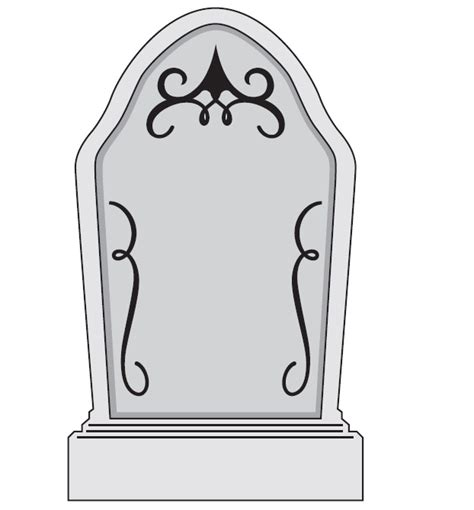 headstone template free gravestone template free clip free clip on clipart library