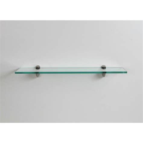 glass shelf lewis hyman 24 in w x 6 25 in d x 2 6 in h clear glass