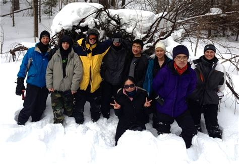 maclachlan winter cers brave the cold weather at algonquin park oakville independent schools
