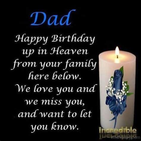 birthday wishes  dad  heaven