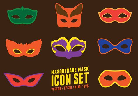 masquerade party mask   vectors clipart