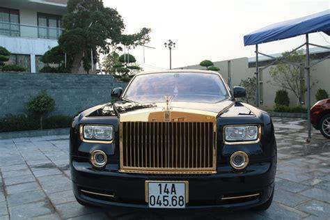 "Rolls Royce Phantom Drangon 24k Gold Plated ""made In"