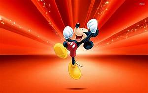 Mickey Mouse Wallpapers red - HD Desktop Wallpapers   4k HD