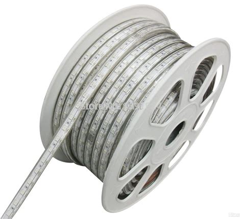 wholesale 50m led light 5050 led strips 220v white