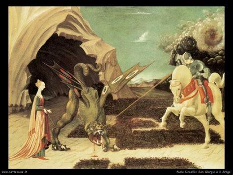 san giorgio  il drago storia  opere darte settemuseit