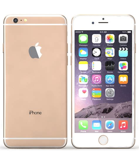 iphone 6 plus apple apple iphone 6 plus gold 16gb kaicell