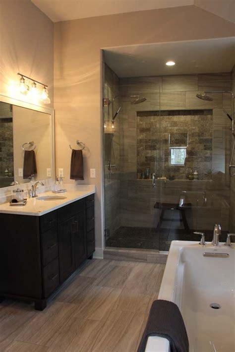 spa  master bath includes  custom tileglass