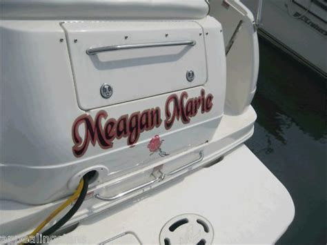 vinyl lettering for boats best 25 boat name decals ideas on stickers
