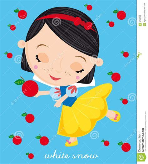 Snow White Stock Illustration Cartoondealercom 55182466