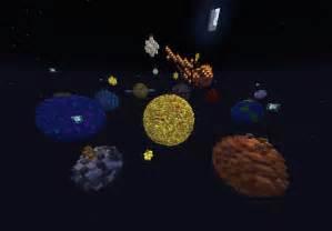Minecraft Solar System Map