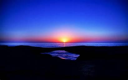 5k Wallpapers Horizon Sunset Widescreen Sun Ultra