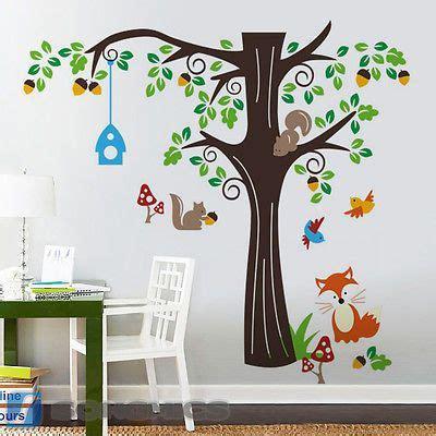 Kinderzimmer Junge Wald by Wandtattoo Wandsticker Spielzimmer Kinderzimmer Baum Wald