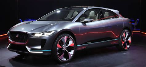 Best Electric Car Range 2016 by In Pictures Jaguar S All Electric Car I Pace With