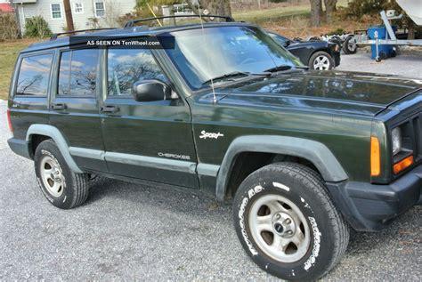 sports jeep cherokee jeep cherokee sport 1998