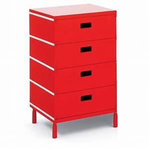 Caisson De Bureau : caisson de bureau rouge ~ Teatrodelosmanantiales.com Idées de Décoration