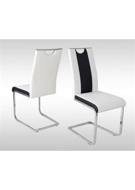 chaise noir et blanc design chaise design