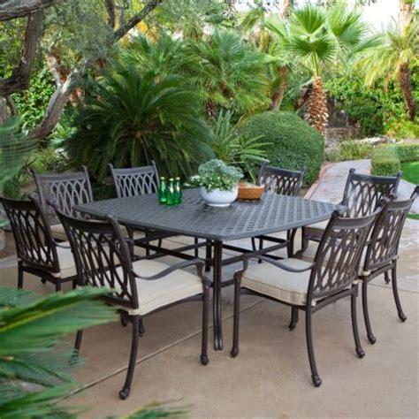 cast aluminum patio furniture top 7 designs hometone