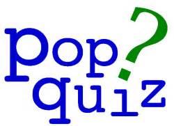 Pop Quiz | Cracked Virtue