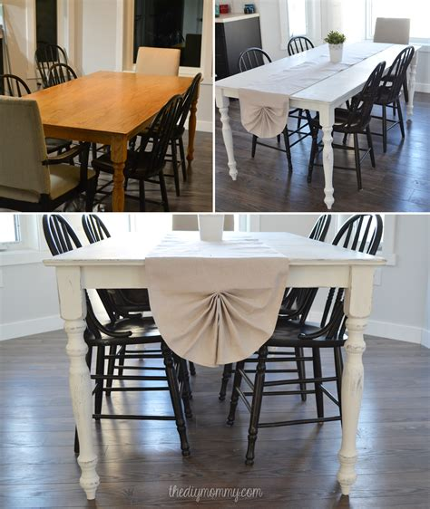 shabby chic dining room table diy a shabby chic farmhouse table with diy chalk pai with kitchen awesome painted dining furniture