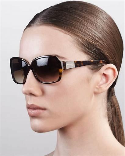 Sunglasses Lulu Spade Kate Square Brown Lyst