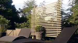 Cacher Vis A Vis : jardin terrasse panneaux brise vue pour se cacher des voisins id es am nagement ext rieur ~ Melissatoandfro.com Idées de Décoration