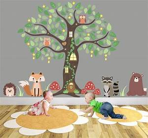 best 25 animal wall decals ideas on pinterest wall With wonderful ideas woodland animal wall decals