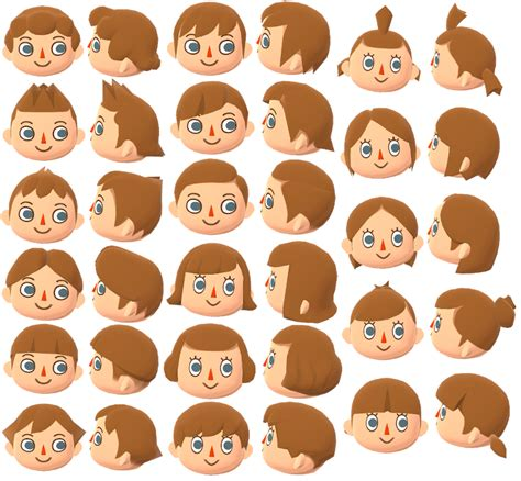 Hair style guide leaves animal and qr codes via pinterest.com. Hairstyles In Acnl : Hairstyles Animal Crossing New Leaf ...
