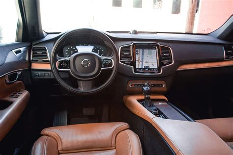 volvo xc90 interior 2016 volvo xc90 t6 awd inscription review term update 6