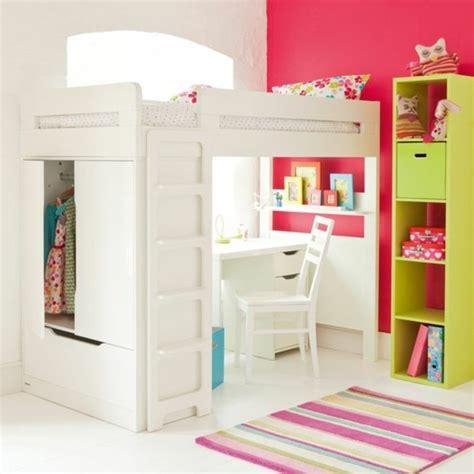 le de bureau pour fille lit en hauteur avec bureau int 233 gr 233 les atouts