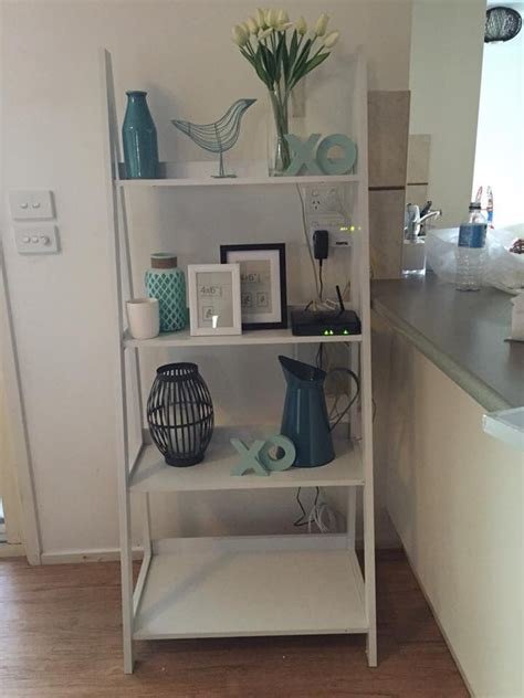 Decorating Ideas Kmart by Kmart Styled White Ladder Shelves My House In 2019