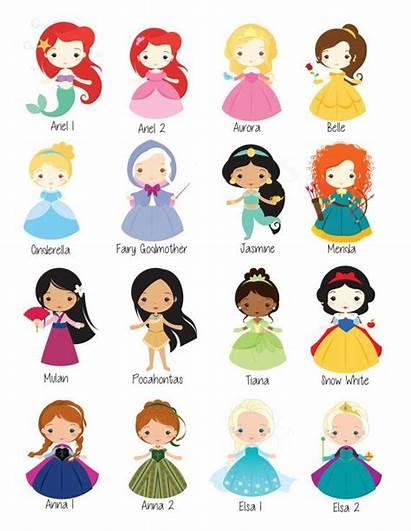 Disney Princess Wall Digital Prints Cartoons Princesses