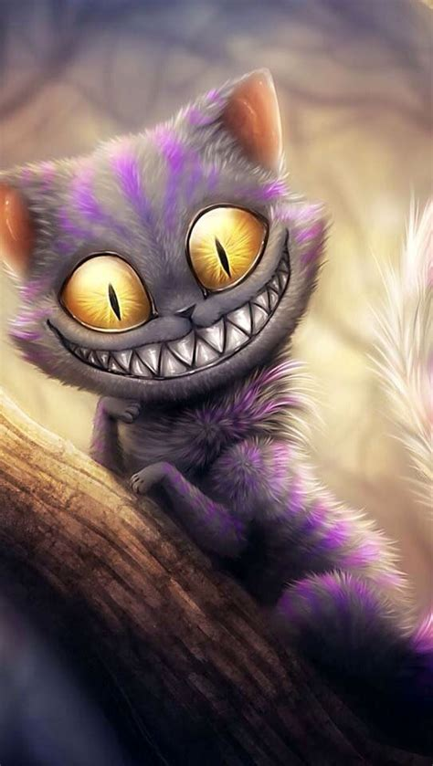 evil cheshire cat wallpaper wallpapersafari