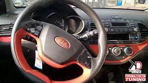 Interior Kia Picanto Ion  U0026quot Morning U0026quot  Personalizado En Rojo