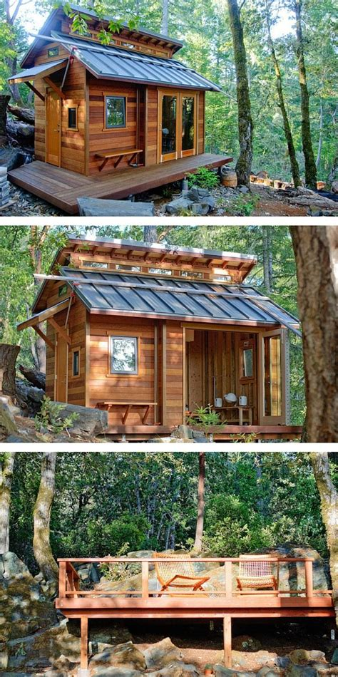 A Beautiful Tiny House Cabin In Sonoma, California