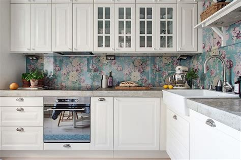 wallpaper kitchen backsplash ideas rental rehab 13 removable kitchen backsplash ideas