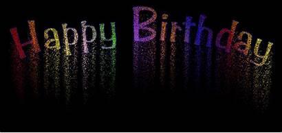 Birthday Happy Gifs Diwali Editor Animated Fireworks