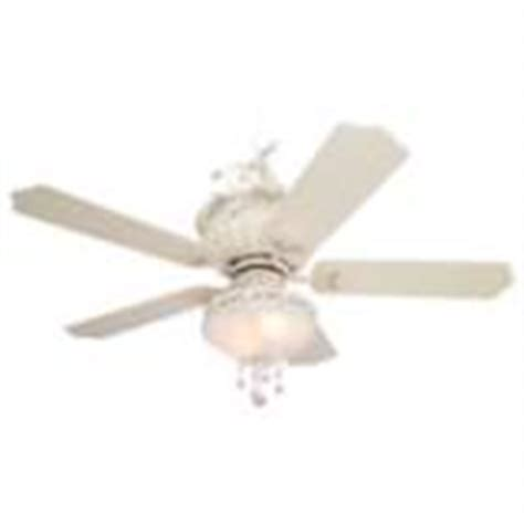 Shabby Chic Ceiling Fan by 52 Quot Casa Chic Rubbed White Ceiling Fan With 4 Light Kit