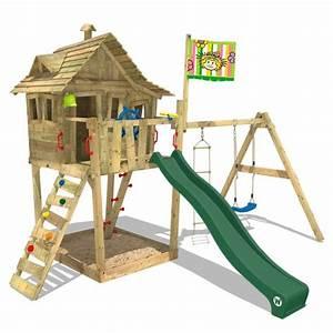 ba08751866c35 aire de jeux bois cabane monkey island balan oire achat vente balan oire  portique cdiscount