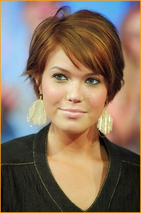 easy short hair for round face 2016 image of hairstyles