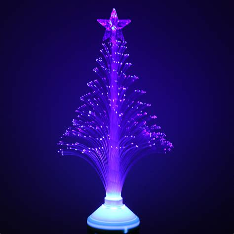 tanbaby 3w e27 blue color optical fiber christmas tree