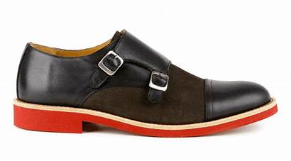 Shoes Double Strap Italian Leather Bold Wildly