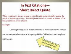 Apa In Text Citation Direct Quote Apa Style Citing Quotes In Text How To Cite In APA Format Punctuation In Citations How To Cite A Website In APA Style YouTube