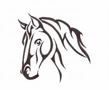 Tribal Horse Drawings ...