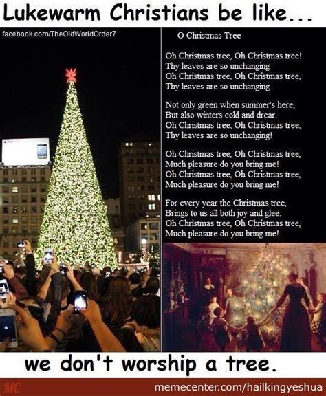the christmas tree is nimrod tammuz by recyclebin meme
