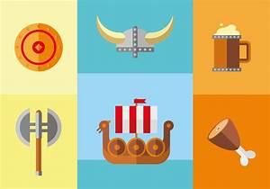 Viking Age Illustration Vector