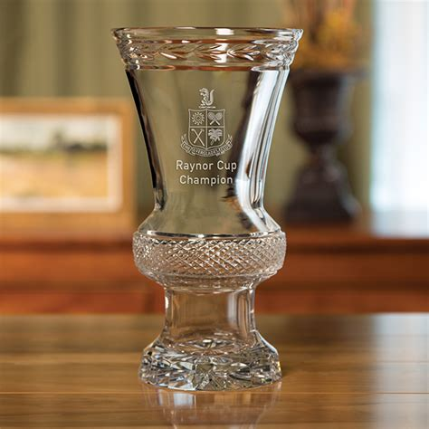 andover trophy sterling cut glass