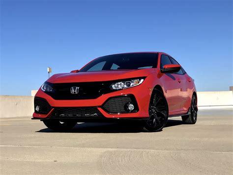Review Honda Civic Hatchback by 2017 Honda Civic Hatchback Sport Test Drive Review