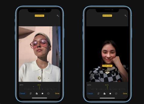 iphone xr portrait mode    limitation cult